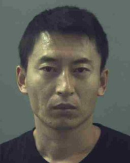 A booking mug shot of Changfeng Lin, courtesy the Weber County Jail