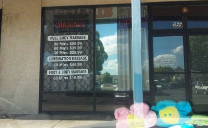 Asian Massage parlors Etiquette