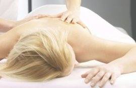 Massage therapists can treat an aching back.