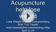Acupuncture help lose weight