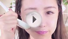 Asian Facial Massage Techniuque Using a Spoon to Get
