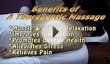 Health Benefits of Therapeutic Massage Therapy | Book a