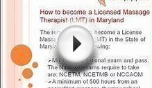 How to become a Licensed Massage Therapist in Kansas