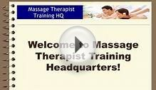 Massage Therapist Training Headquarters