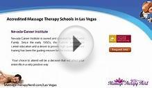 Massage Therapy Schools in Las Vegas | NV Therapist