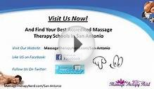 Massage Therapy Schools in San Antonio | TX Therapist